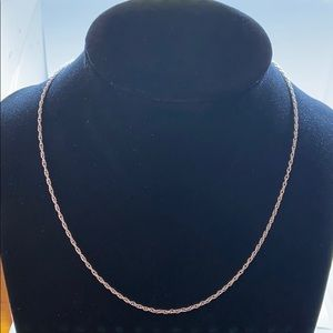 Jewelry - 980 silver necklace